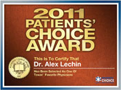 2011 Patients' Choice Award